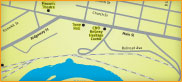 Map of Clifton Forge